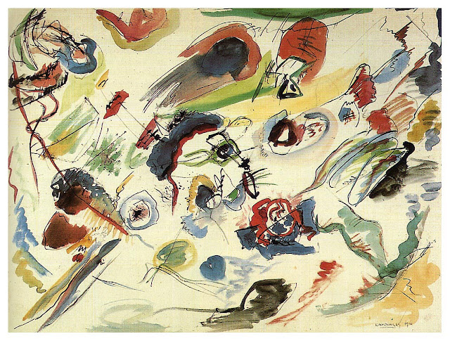 Kandinsky First abstract