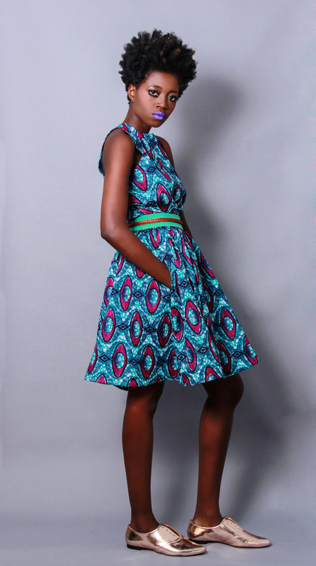 Demesticks  NY African print  style dresses  #kitenge #Africanprint #Pagneafricain See more on ciaafrique.com