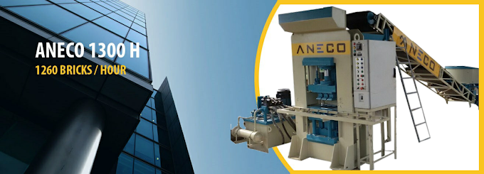ANECO brand FLY ASH BRICK MAKING MACHINE : various range from ANECO 1700 TO ANECO 3600. QUALITY - SERVICE - COST EFFECTIVE - LONG LIFE. www.anecotech.com call now: 095744 99924 / 25
