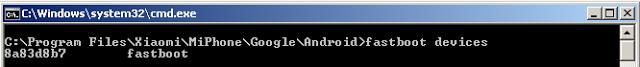 Pada potensi  kali ini aku akan menyodorkan tentang cara mengenali tipe Xiaomi melal Cara Mengetahui Tipe Xiaomi Melalui ADB Fastboot