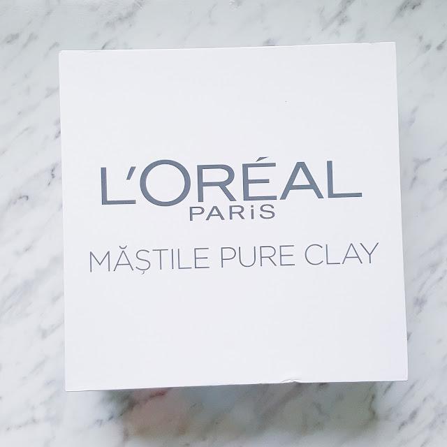 Noile măști Pure Clay de la L'Oreal   prima impresie