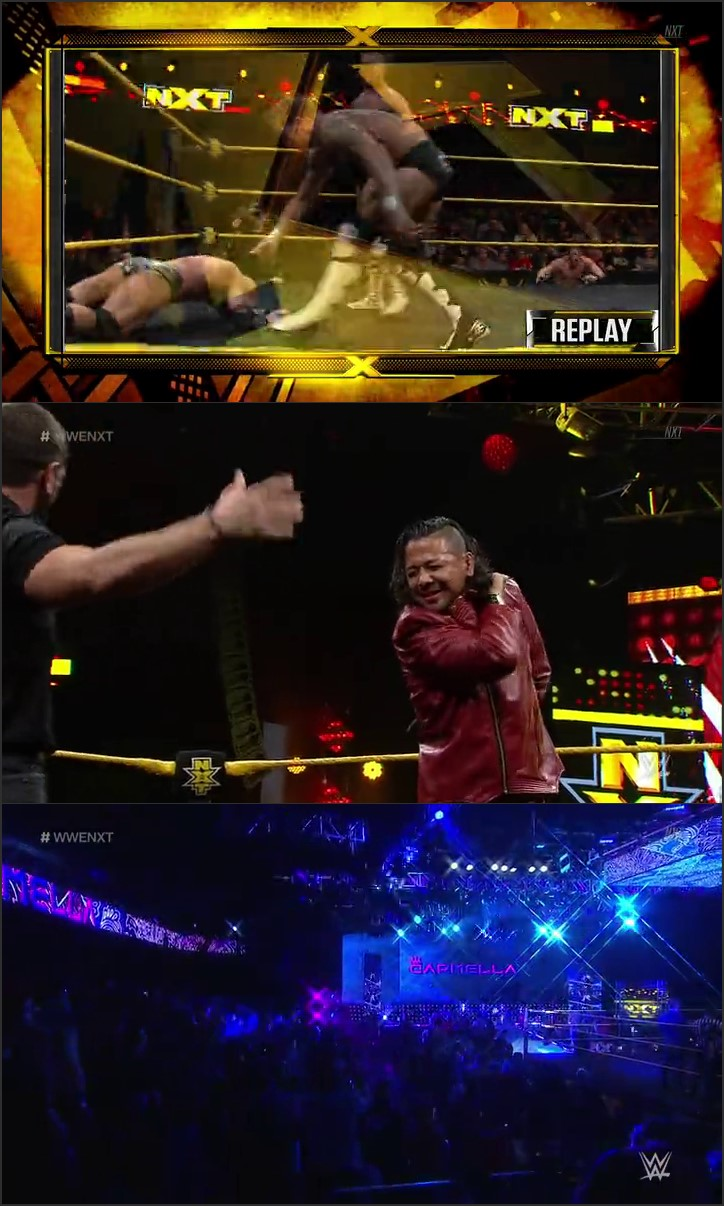 Screen Shot Of WWE NXT 25th May 2016 WebHD 480P 200MB