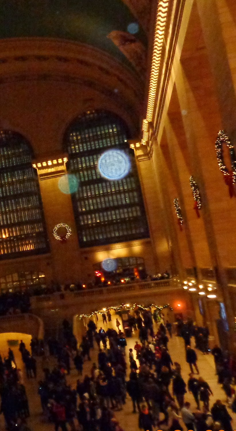 orbs in Grand Central Station