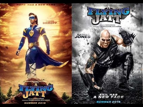 A Flying Jatt, A Flying Jatt Tiger Shroff, A Flying Jatt Poster
