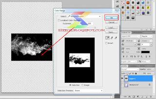 tutorial cara menambah asap rokok berwarna dengan photoshop