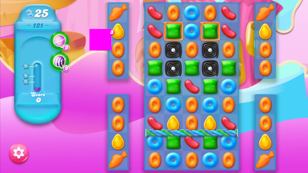 Candy Crush Jelly Saga 121