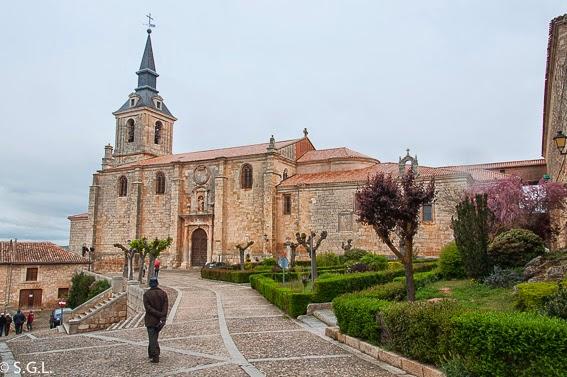 Colegiata de San Pedro en Lerma. Visitando Lerma