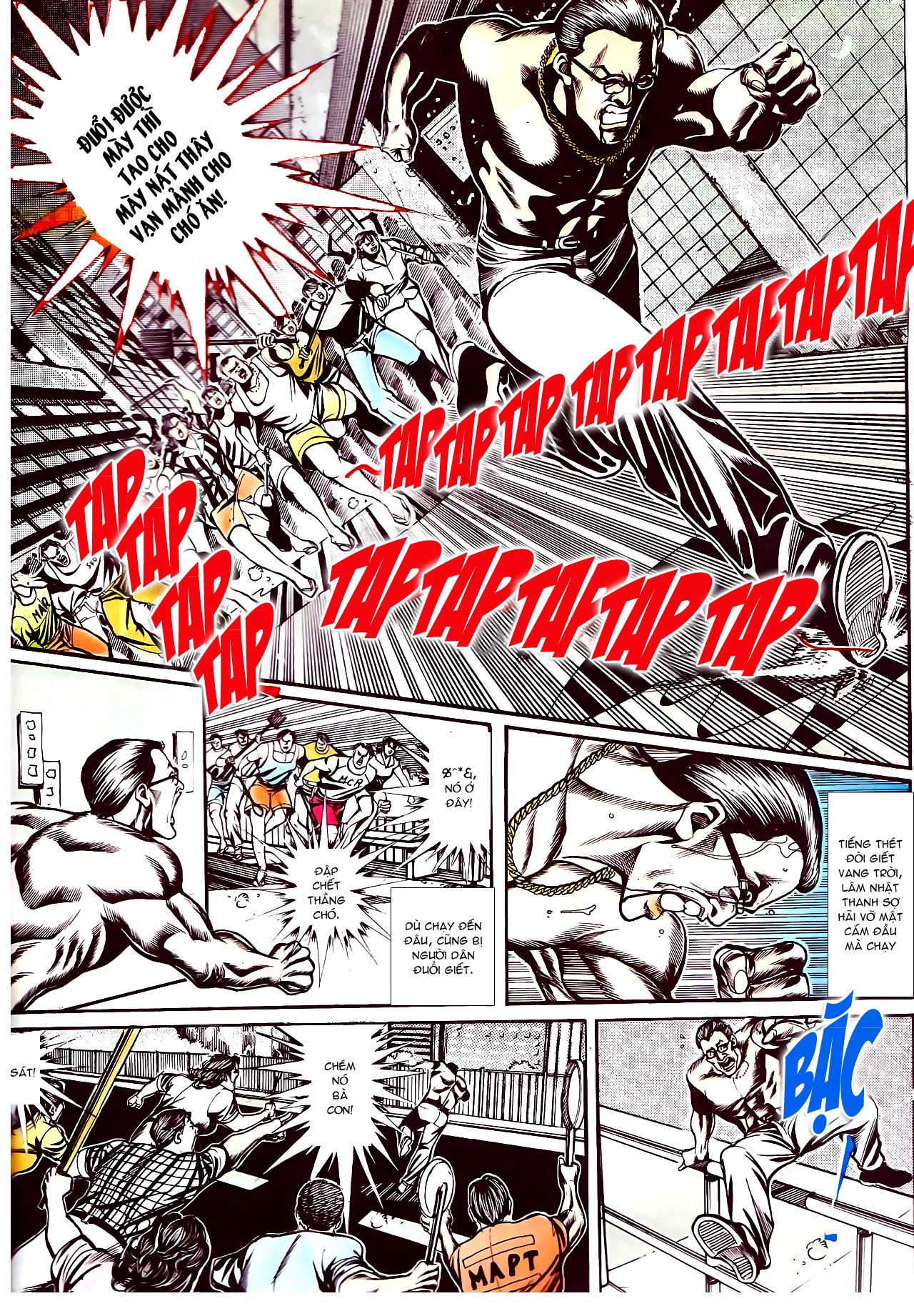 Người Trong Giang Hồ chapter 145: máu thịt tung tóe trang 4