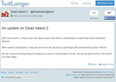 Deep Silver - An update on Dead Island 2.