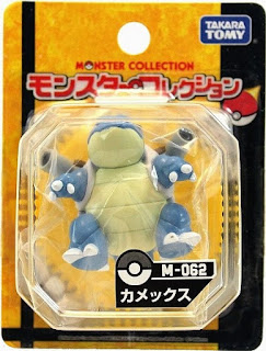 Blastoise  figure Takara Tomy Monster Collection M series