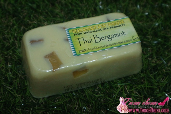 Thai Bergamot Soap Bar Lemongrass House