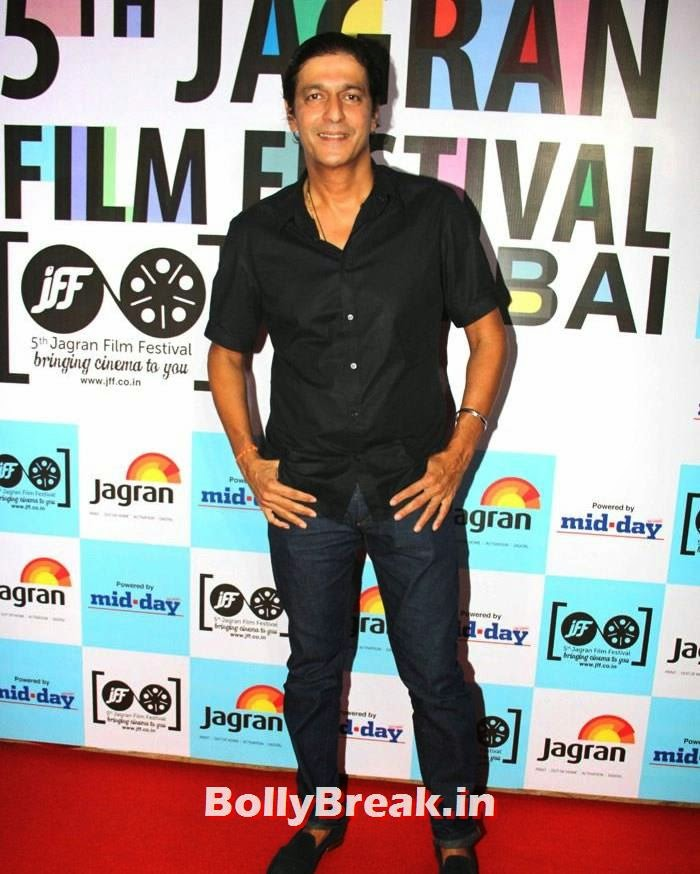 Chunky Pandey, 5th Jagran Film Festival Red Carpet Pics