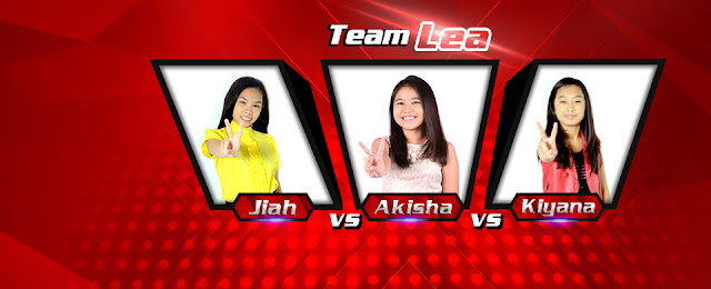 Jiah vs Akisha vs Kiyana The Voice Kids