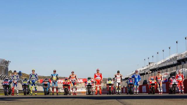 Daftar Resmi Pembalap yang akan Berlaga di MotoGP 2018