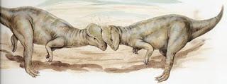 Resultado de imagen para paquicefalosaurio luchando