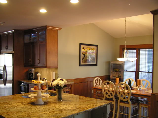 Our Peaceful Place The Ultimate Challenge Perfect Paint To Compliment Oak Cabinets Amp White Trim