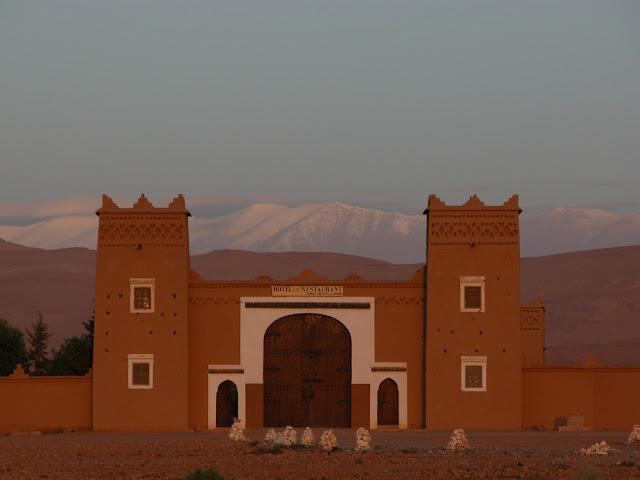 Kasbah Wüstentrip desert