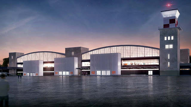 Comienzan obras en El Palomar para albergar vuelos de bajo costo