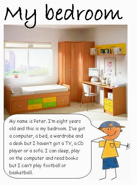 A descriptive essay about your bedroom