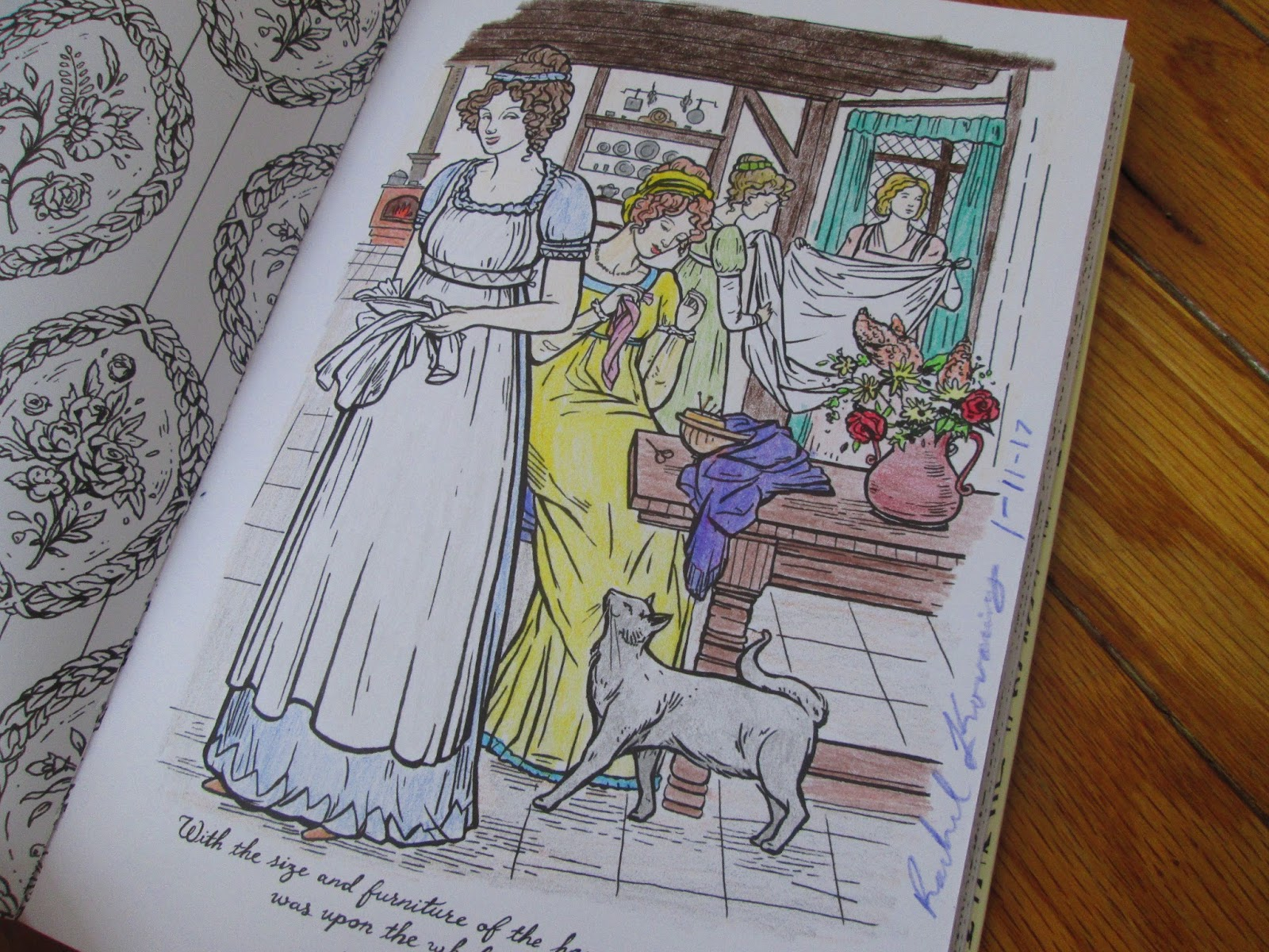 The Edge Of The Precipice Color Me Jane Coloring Book By Jacqui