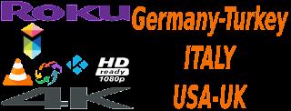 Sky Krimi Germany RAI Italy USA UK ShowTv Turkey