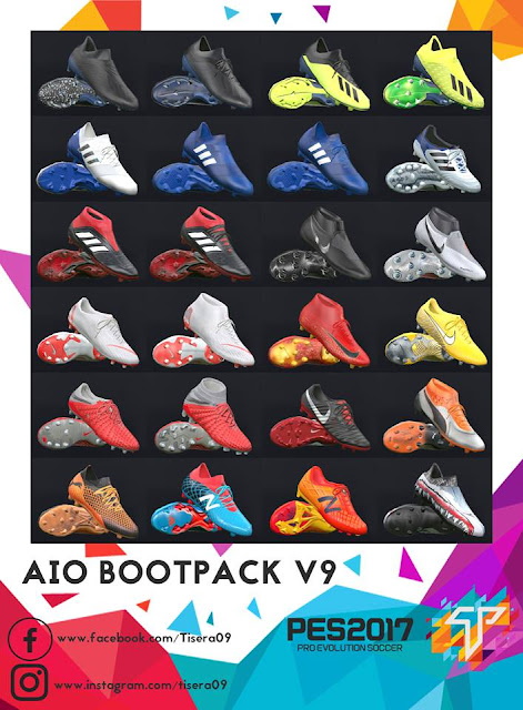 PES 2017 BootPack AIO v9 by Tisera09