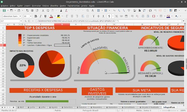 LibreOffice Calc 6.1