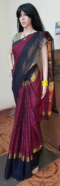 Uppada Pure Cotton Sarees