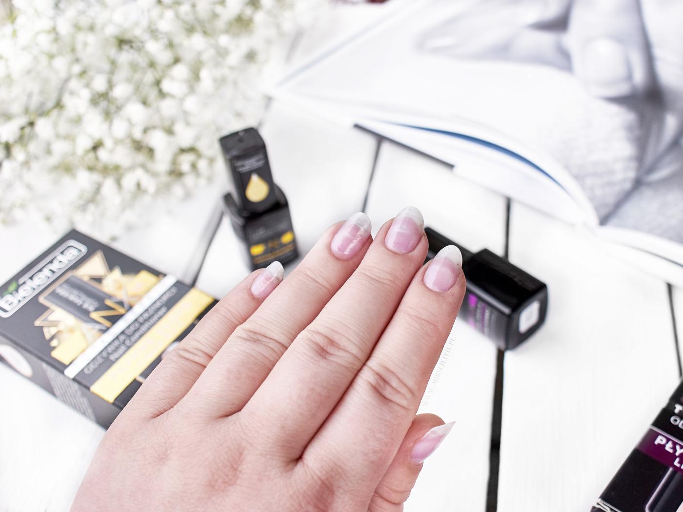 bielenda odżywka do paznokci anx10 total repair płynne złoto płynny diament opinie blog