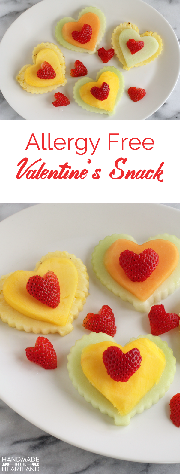 Allergy Free Valentine's Day Snack