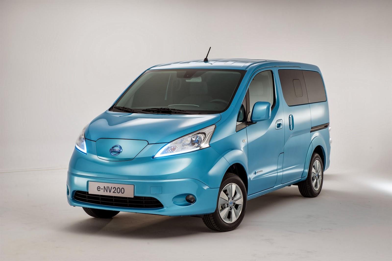 Nissan Launch The E Nv200 Electric Van Geneva