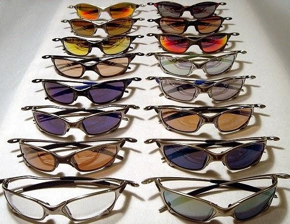 8b0c95c8c7163 A categoria mais conhecida e desejada dos óculos da Oakley a famosinha  linha Oakley X-Metal. Muitos óculos omo Penny