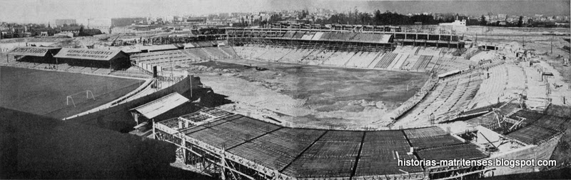 Historias matritenses el bernabeu o campo de chamart n for Estadio bernabeu puerta 0