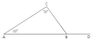 Contoh soal menentukan sudut pada segitiga