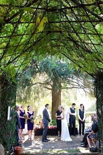Ricardo Wedding Ceremony in Tasma Gardens, Daylesford