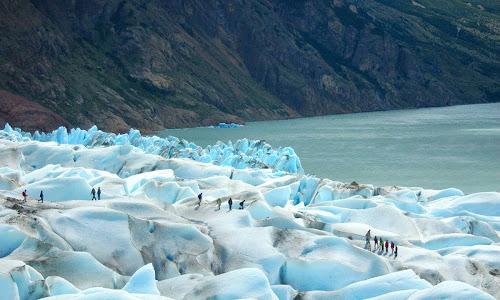 Trekking no Glaciar Viedma