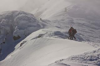 Cresta Claveles Ruta Circular Cotos Peñalara Esquí de Travesía