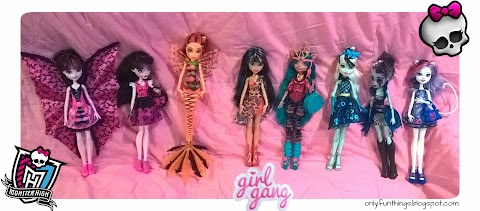 Updates to the Monster High Collection