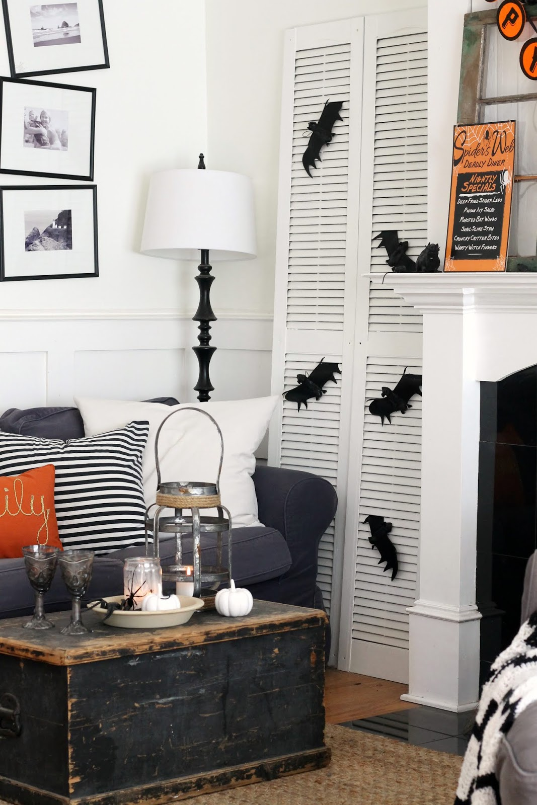When It Comes To Decorating For Halloween, I Typically Like To Focus On  Decorating Just One Area In Our Home, Rather Than Have Decorations  Scattered ...