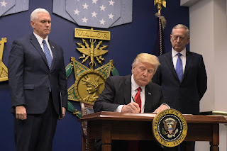 President Trump bans Syrian refugees from the US