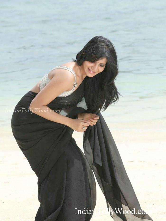 Samantha Black Saree Pics  Songs By Lyrics