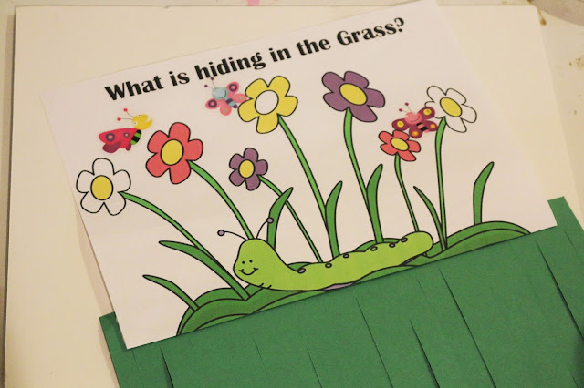 in the tall tall grass scissor skills activity