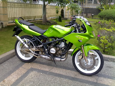 Foto Modifikasi Motor Ninja