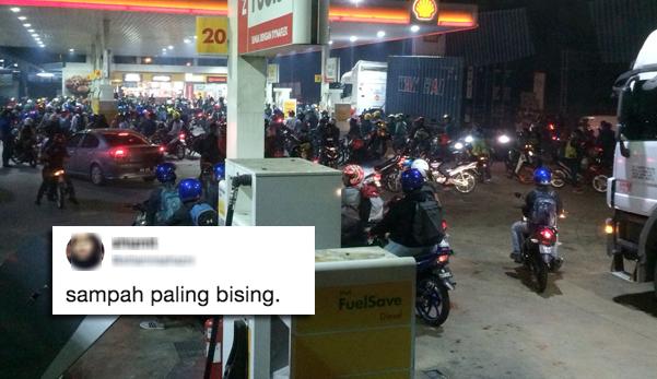 'Sampah paling bising' - Tweet wanita ini buat netizen berbalah
