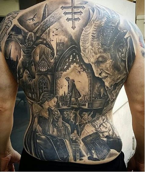 Awesome Tattoos Designs Ideas For Men And Women Amazing: 50 Best Full Back Tattoos Designs And Ideas (2018