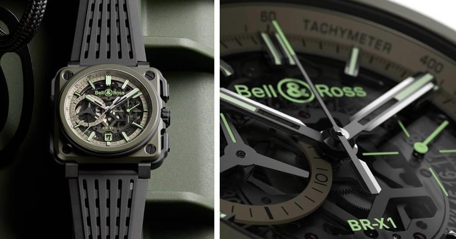 831c3fd230b BR X1 Military  o novo relógio da Bell   Ross inspirado na aviação militar
