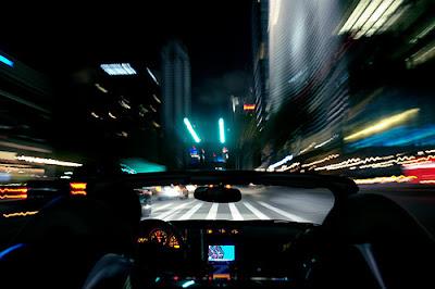 Em alta velocidade