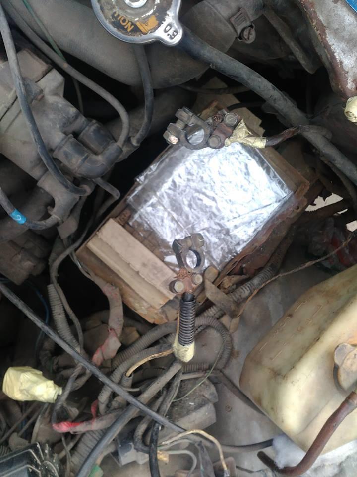 واقعة سرقة غريبة لمحتويات سيارة بحى العرب