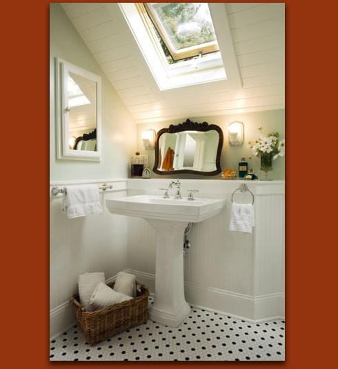 Attic Bathroom: Attic Works: Attic Bathrooms