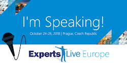 Speaking at Experts Live 2019